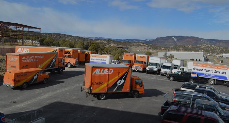 Alliance Moving Systems - Storage facility in Gypsum Colorado