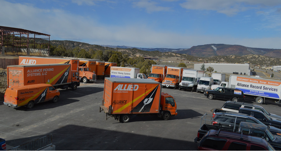 Alliance Moving Systems - Storage facility in Gypsum Colorado